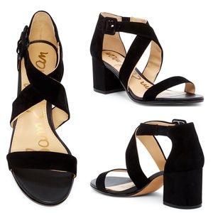Sam Edelman Sonia Black Block Heel- Size 6